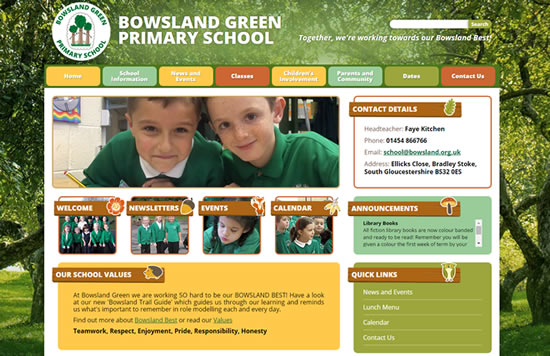 View our Primary School Websites