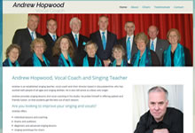 Andrew Hopwood Vocal Coach
