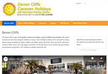Devon Cliffs Caravans